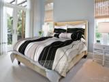 Bavlněné moderní a žádané povlečení v černobílé barvě v klasické,prodloužené i francouzké velikosti Smolka