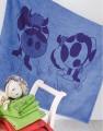 Dětská osuška NORA - kravičky Veba