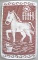 Dětský ručník - Koník hnědý