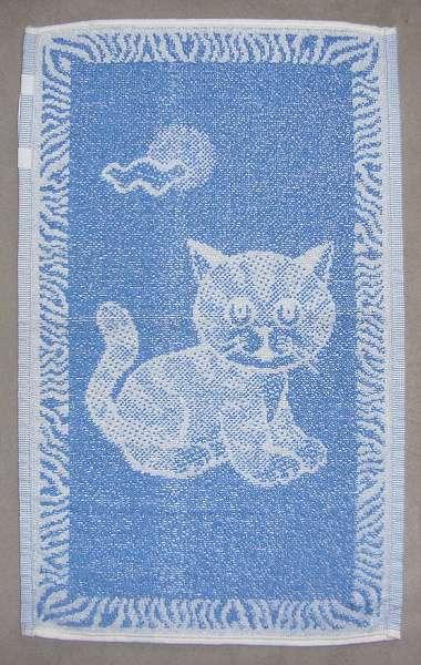 Dětský ručník - Kotě modré Frotex