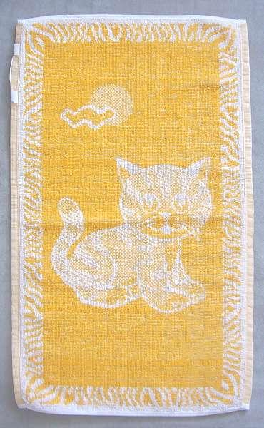 Dětský ručník - Kotě okrové Frotex