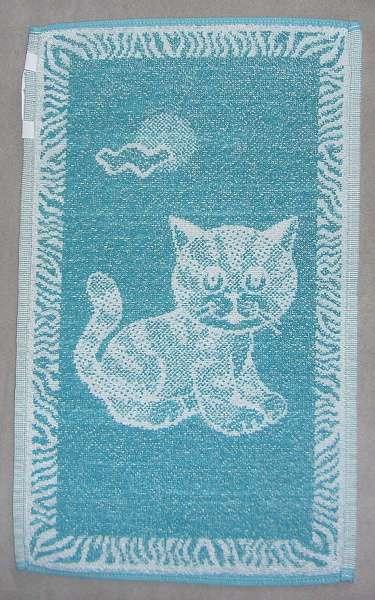 Dětský ručník - Kotě zelené Frotex