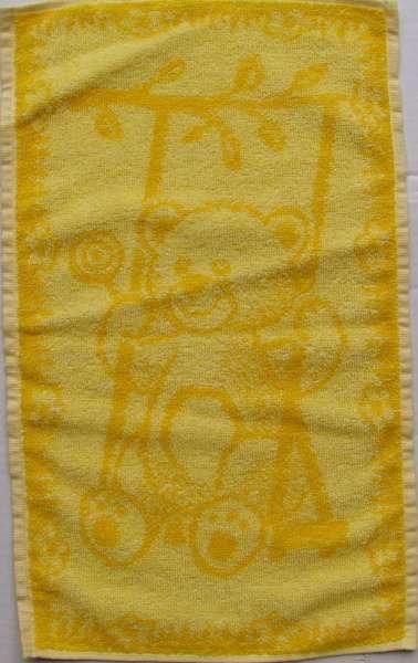 Dětský ručník - Medvídek žlutý Frotex