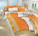 Povlečení bavlna - Medůza oranžová