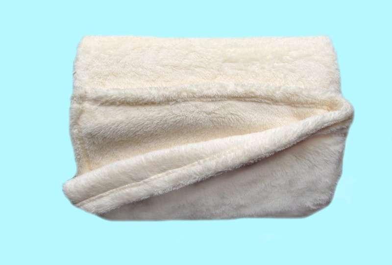 Žádaná chlupatková soft deka banánová barva Dadka