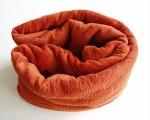 Super soft deka Dadka - cihlová