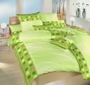 Kvalitní krepové povlečení laděné do zelené barvy Cinema zelená Dadka