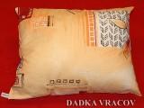 Plněný polštářek - výběr z mnoha dezénů Dadka