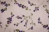 Povlečení LEVANDULE Provence s proužkem zeleným