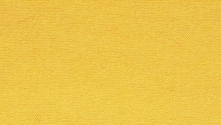 Prostěradlo v provedení jersey v barvě sytě žlutá napínací