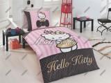 Povlečení Hello Kitty gold