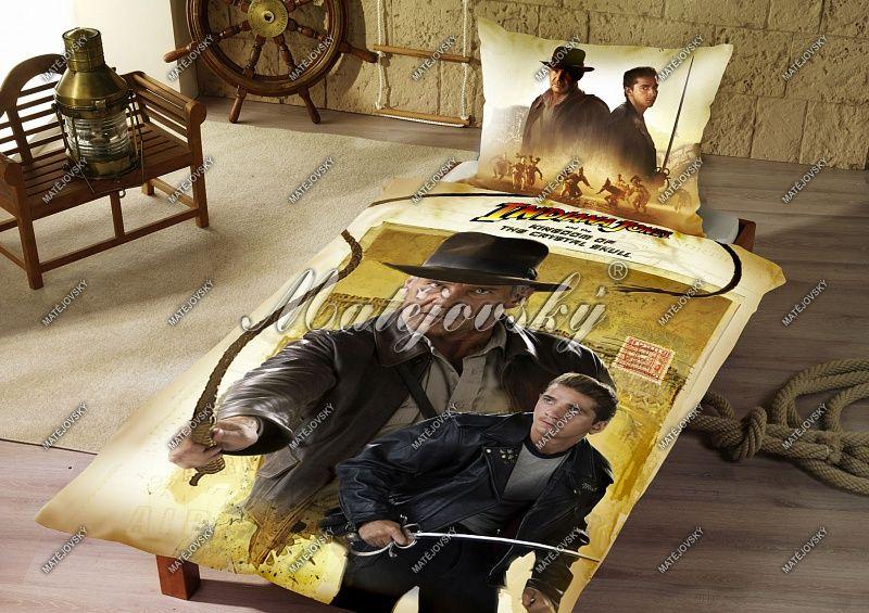 Povlečení pro děti s Indiana Jonesem Matějovský