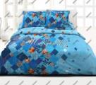 Povlečení Valencia blau bavlna