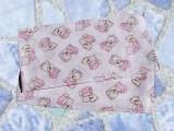 Dětská plena Méďa růžový polštář (balení 5 ks)