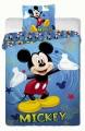 Bavlněné povlečení Mickey 2014 blue