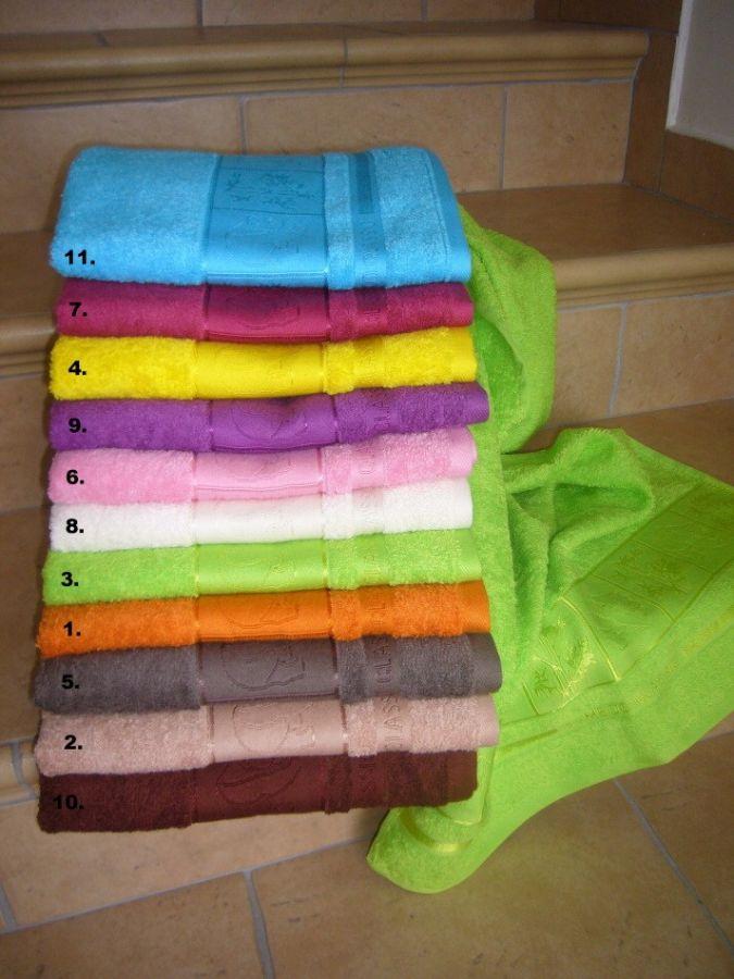 Bambusové ručníky a osušky Panda Jerry Fabrics