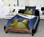 Povlečení Happy froggy bavlna