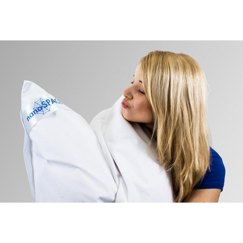 Protiroztočový a prachuvzdorný povlak nanoSPACE Comfort na polštář