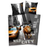 Bavlněné povlečení Lev v New Yorku