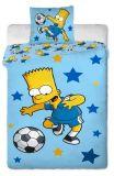 Povlečení Simpsons Bart blue 140x200 70x90