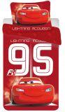 Povlečení Disney Cars 95 red