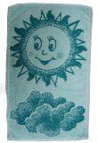 Dětský ručník - Sluníčko zelené Frotex