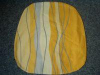 Povlak na kuchyňský sedák okrový pruhy 40x40 cm