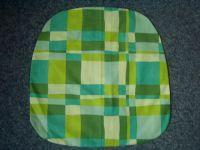 Povlak na sedák nebo kuchyňský sedák  Káro zelené 40x40