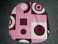 Povlak na sedák nebo kuchyňský sedák růžový  40x40