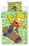 Povlečení Simpsons Bart green 2016