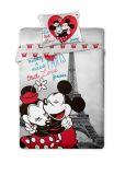 Povlečení Mickey and Minnie v Paříži