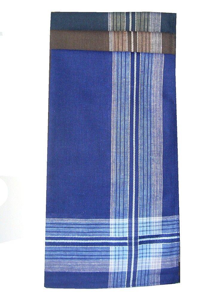 Pánský kapesník tmavých barev, baleno po 6 kusech Mileta