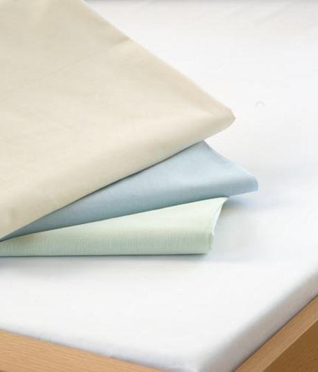 Bavlněná bílá plachta do gumy - bílá 90/200/15 Dadka
