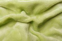 Mikroflanelové prostěradlo pistáciové, zelené
