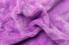 Prostěradlo z mikroflanelu světle fialové barvy
