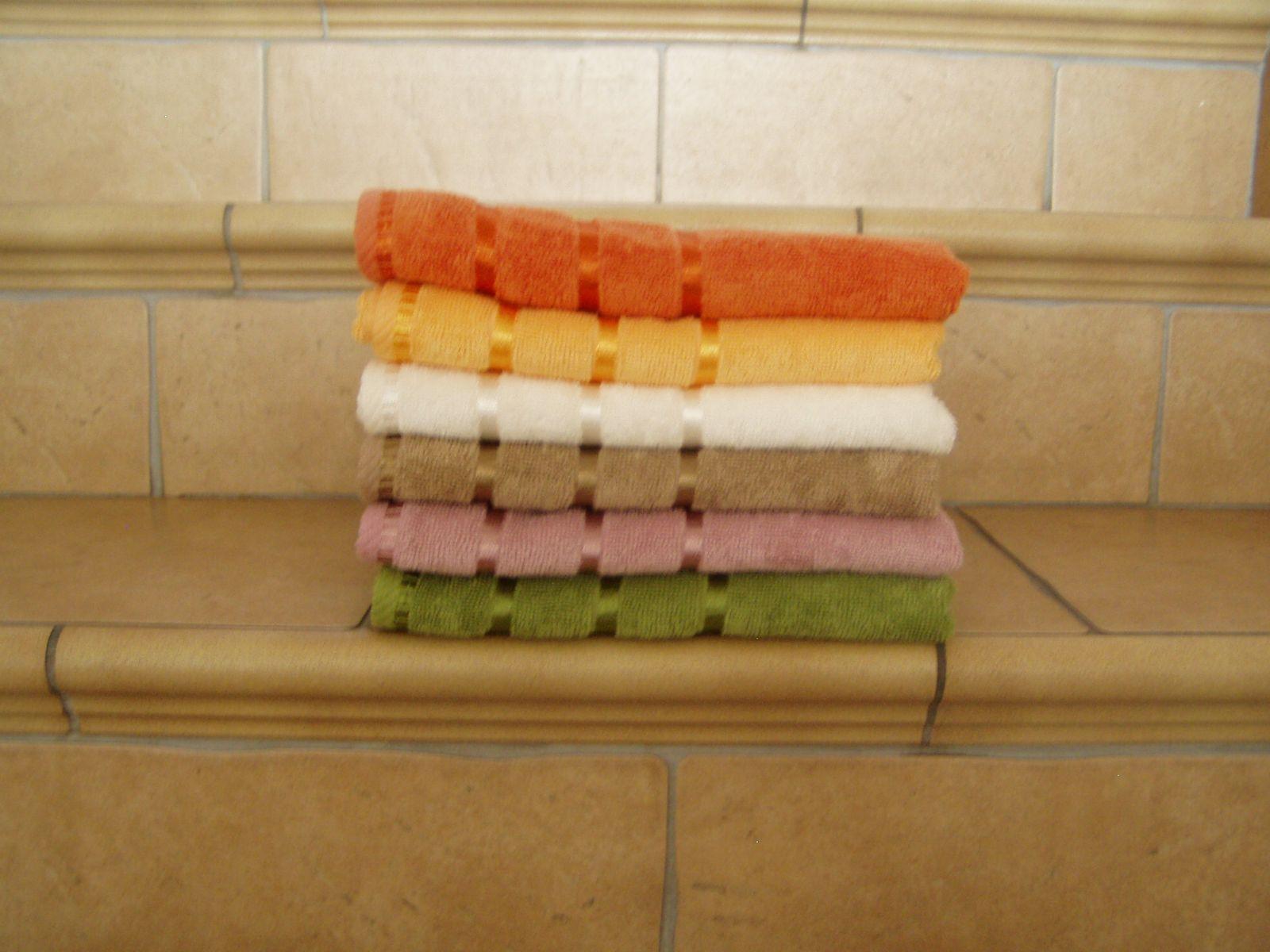 Bambusový ručník a osuška ELA s vysokou savostí Bade Home