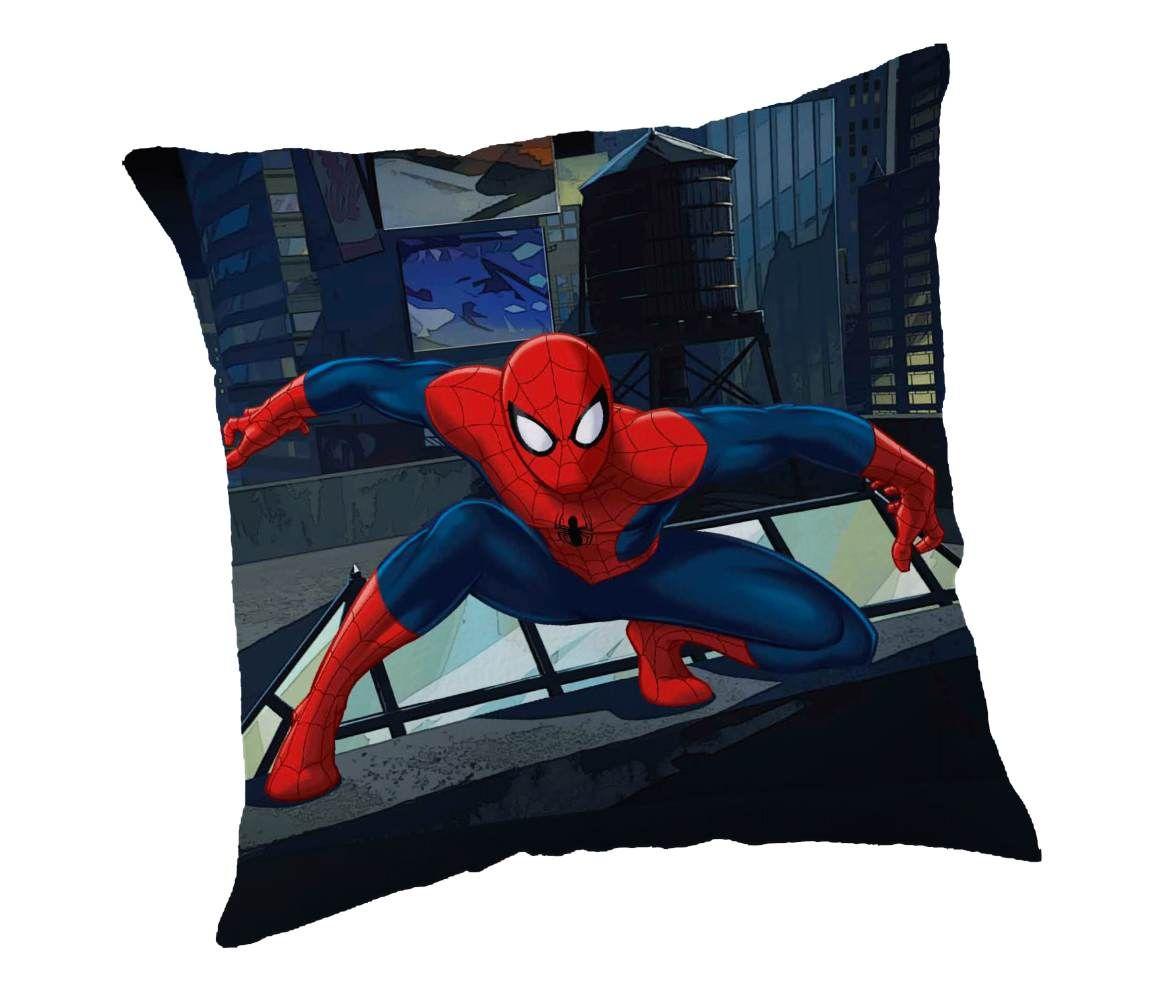 Dětský polštářek Spiderman na modrém podkladu Jerry Fabrics