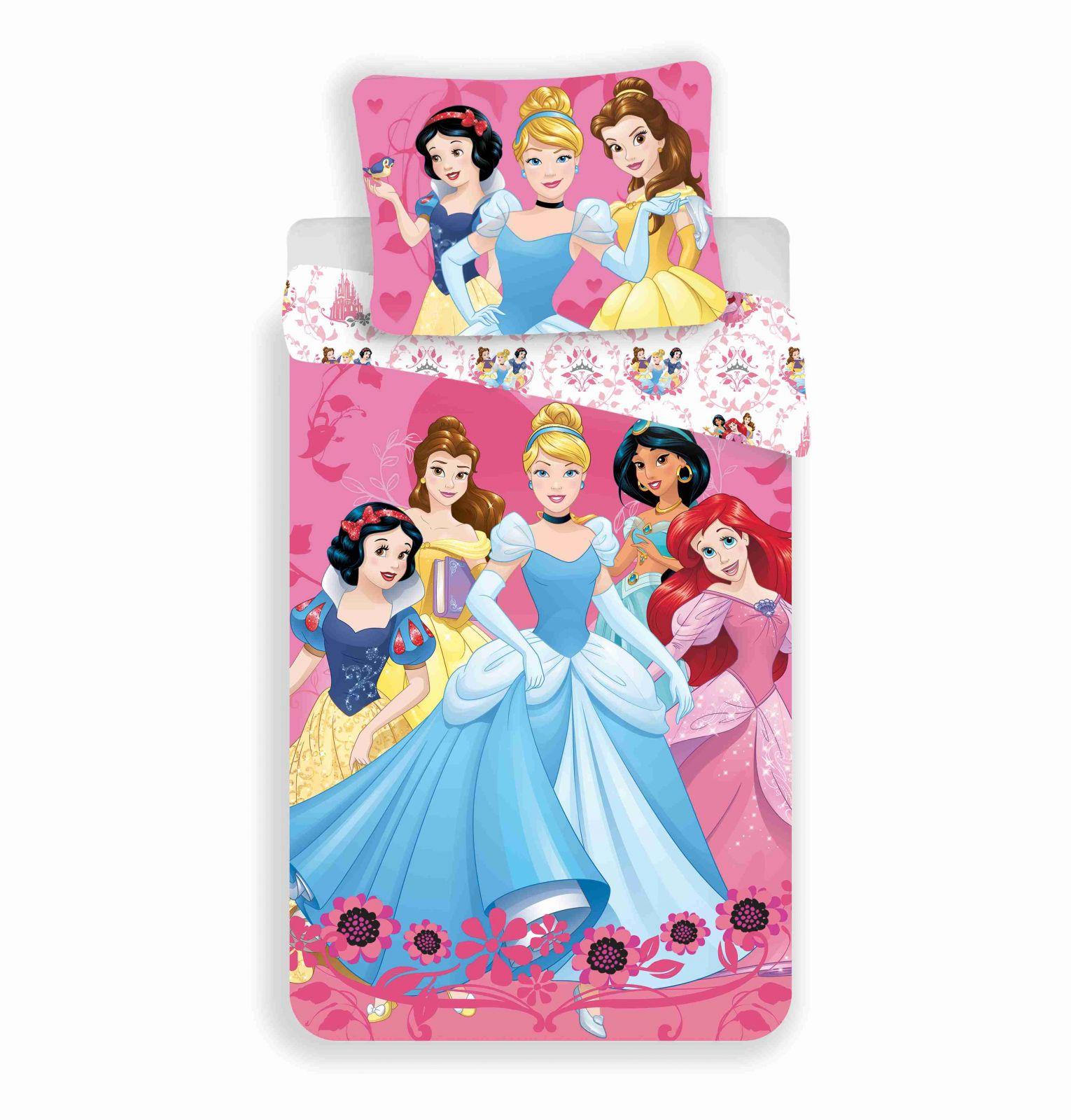 Bavlněné povlečení princezny růžové Jerry Fabrics