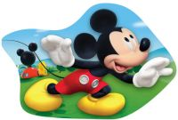 Tvarovaný plněný polštářek Mickey
