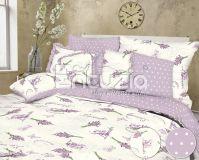 Bavlněné povlečení Lavender lila