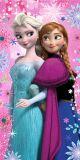 Osuška Frozen pinkie star 70x140 cm