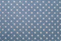 Povlak jednoduchý puntík na modrem podkladu český výrobce