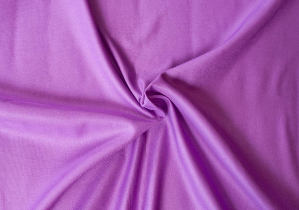 Kvalitní saténové prostěradlo LUXURY COLLECTION v tmavě fialové barvě Kvalitex