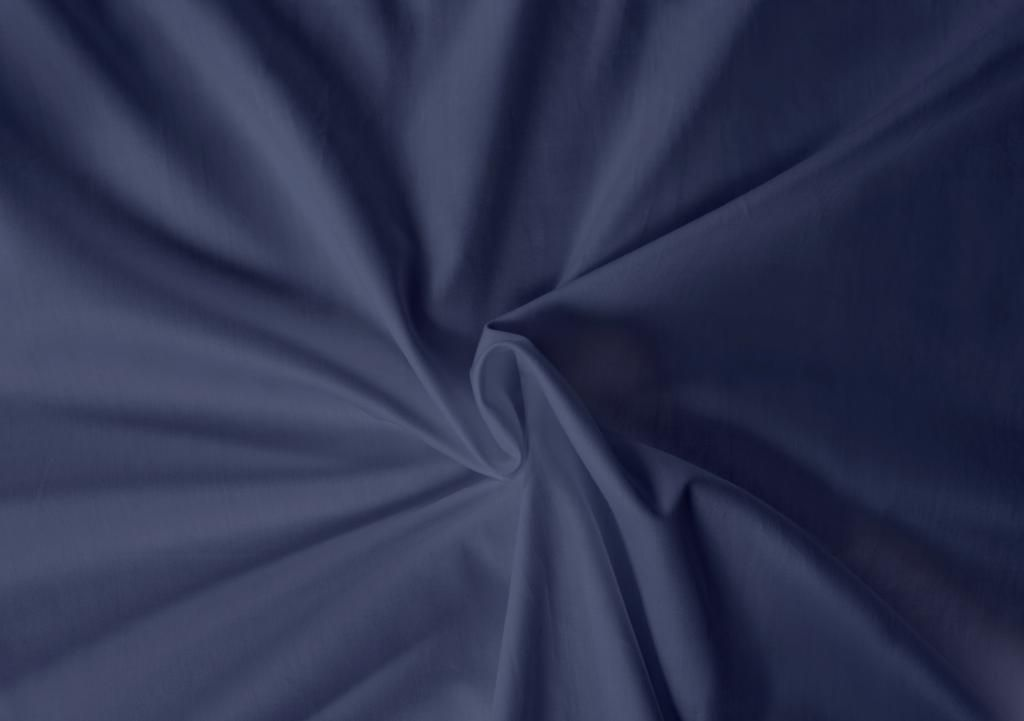 Saténové prostěradlo LUXURY COLLECTION tmavě modré Kvalitex