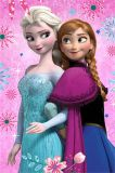 Dětská fleecová deka - Frozen flowers