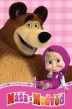 Dětská fleecová deka - Máša a medvěd