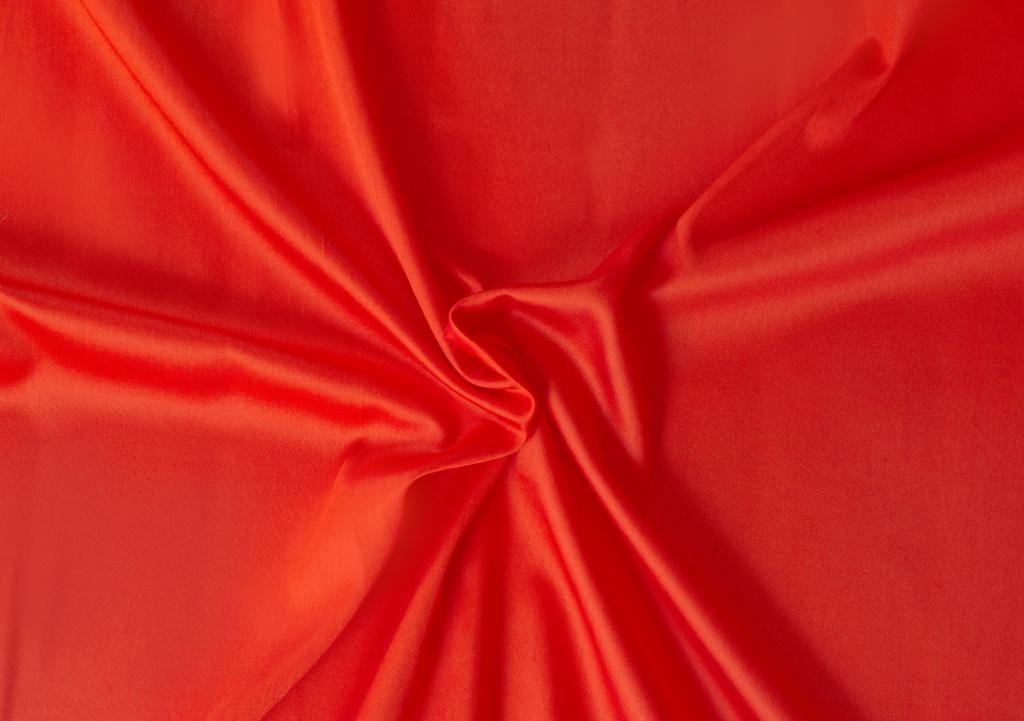 Kvalitní saténové prostěradlo LUXURY COLLECTION v červené barvě Kvalitex