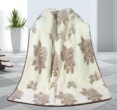 Vlněná deka DUO 155x200cm růže - australské merino