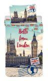 """Povlečení fototisk London """"Hello"""""""