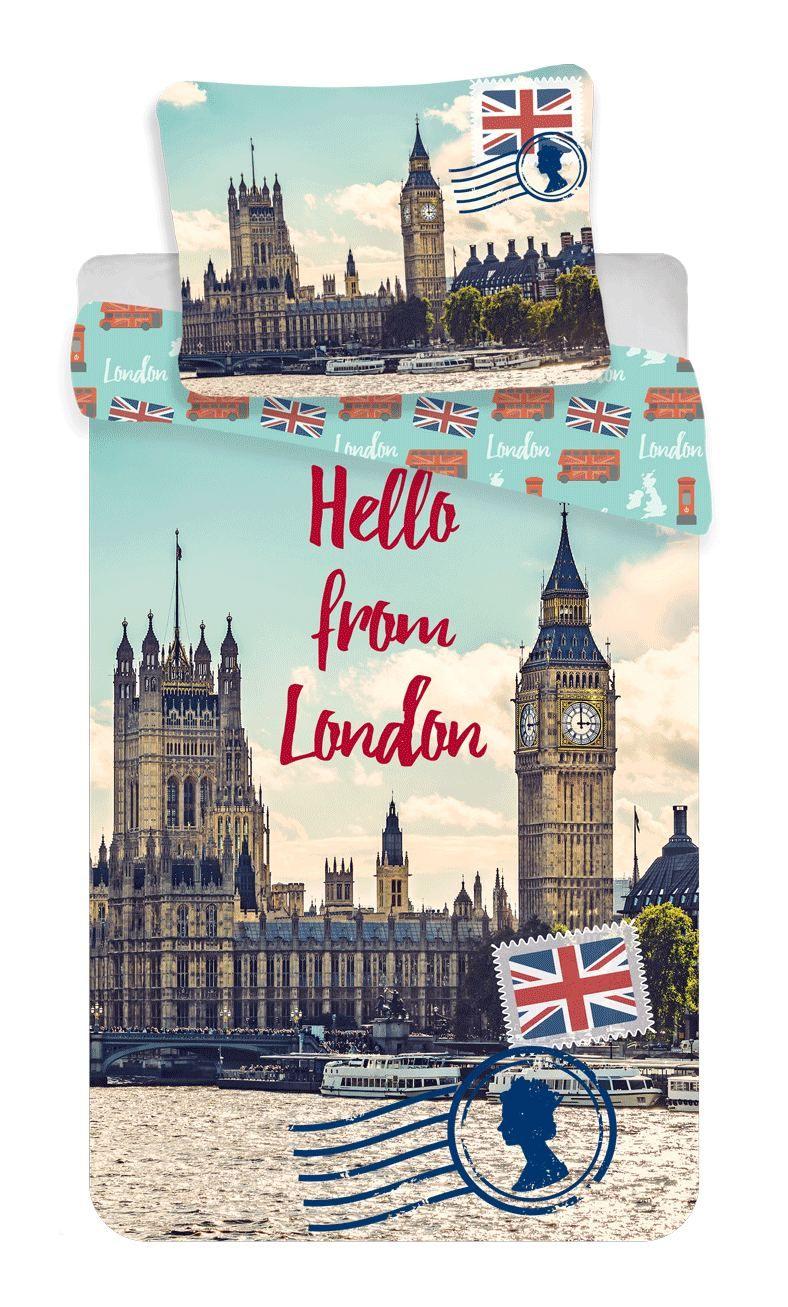 Povlečení fotorisk London, Londýn Jerry Fabrics